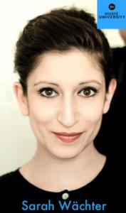 Sarah Wächter - Music University Conference